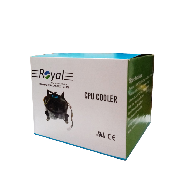 فن CPU مدل ROYAL LN-COOLER-775-1155